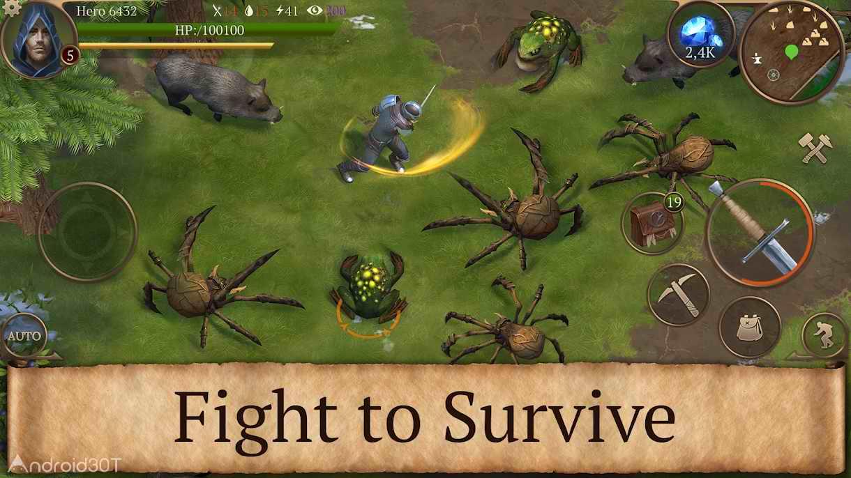 دانلود Stormfall: Saga of Survival 1.14.7 – بازی ماجراجویی حماسه بقاء برای اندروید