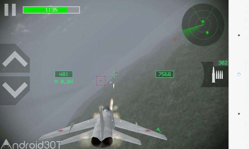 دانلود Strike Fighters 2.11.3 – بازی هواپیمای جنگی برای اندروید