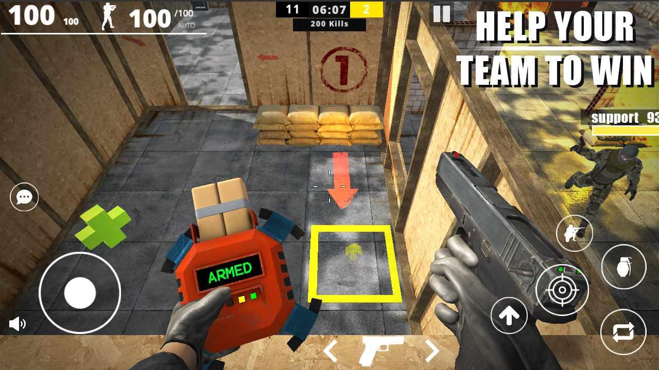 دانلود Strike Force Online 1.5 – بازی اکشن آنلاین نیروی ضربت اندروید