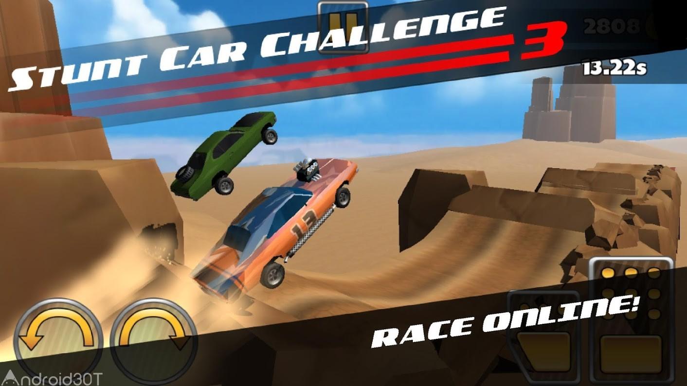 دانلود Stunt Car Challenge 3 v3.33 – بازی ماشین سواری اندروید