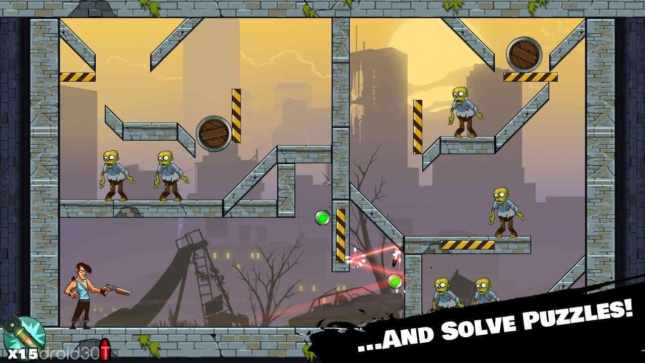 دانلود Stupid Zombies 3.2.8 – بازی مهیج زامبی های احمق اندروید