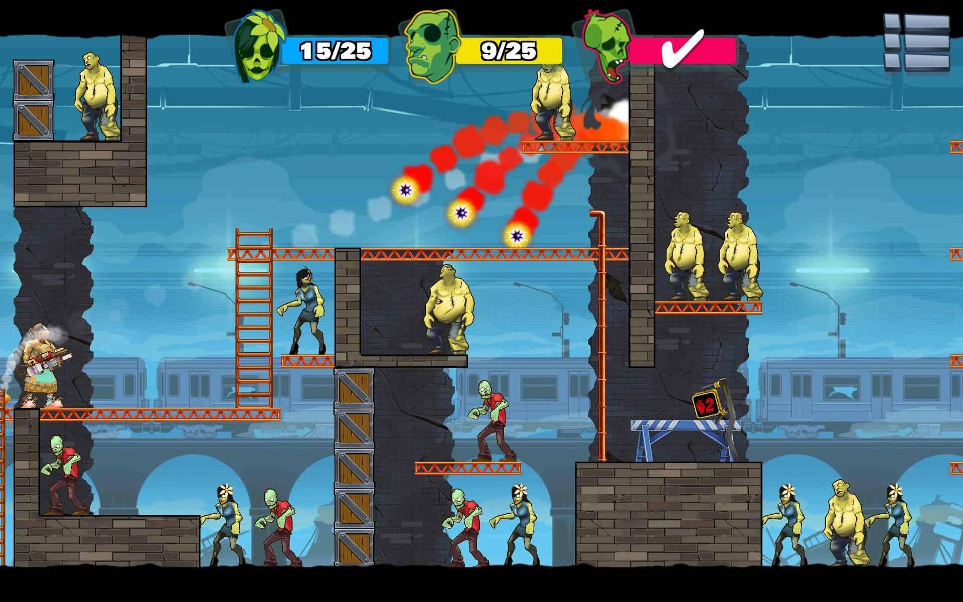 دانلود Stupid Zombies 3 v2.12 – بازی زامبی های احمق 3 اندروید