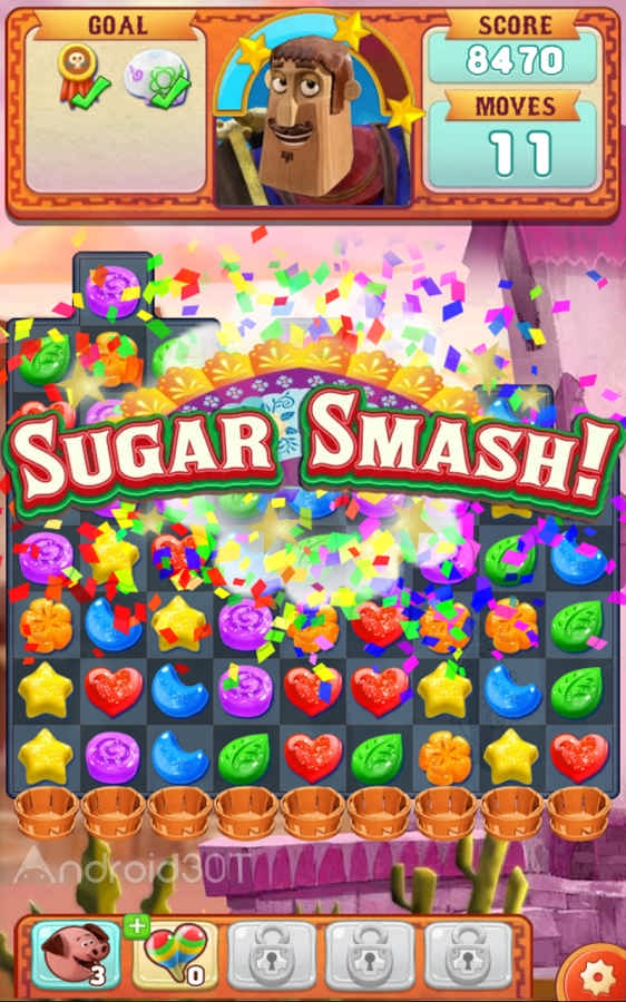 Sugar Smash: Book of Life - Free