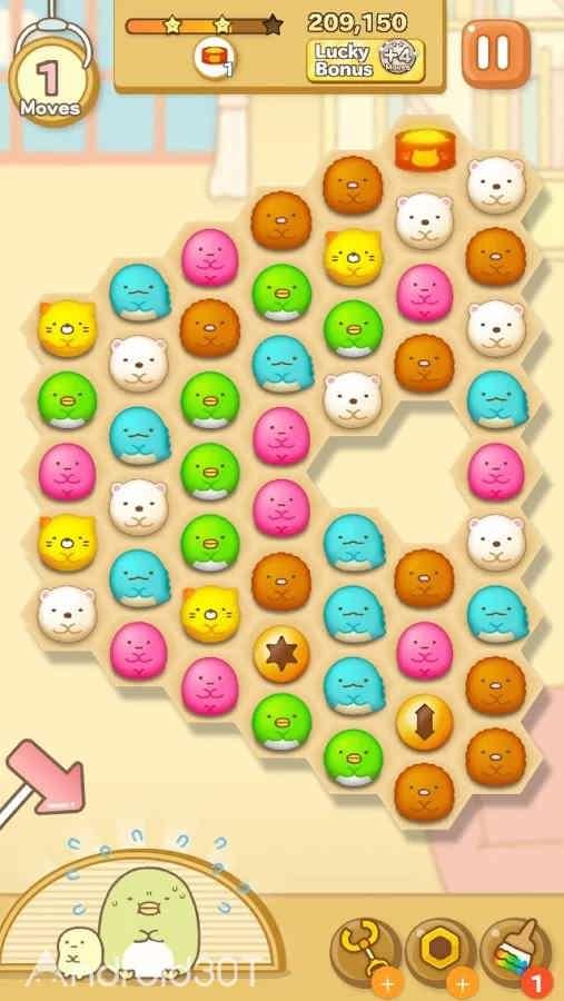 دانلود Sumikko gurashi-Puzzling Ways 2.1.1 – بازی پازلی رنگارنگ اندروید