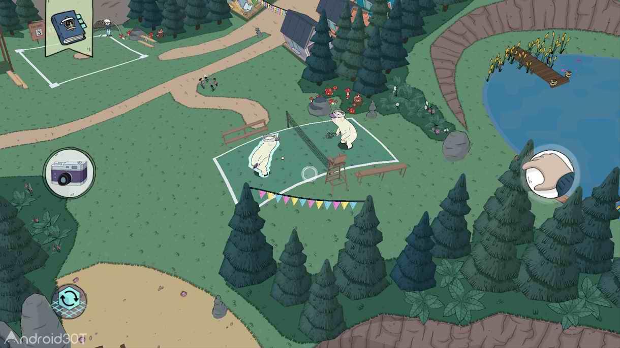 دانلود Summer Camp Island AR 1.0.2 – بازی شبیه ساز جزیره تابستانی برای اندروید