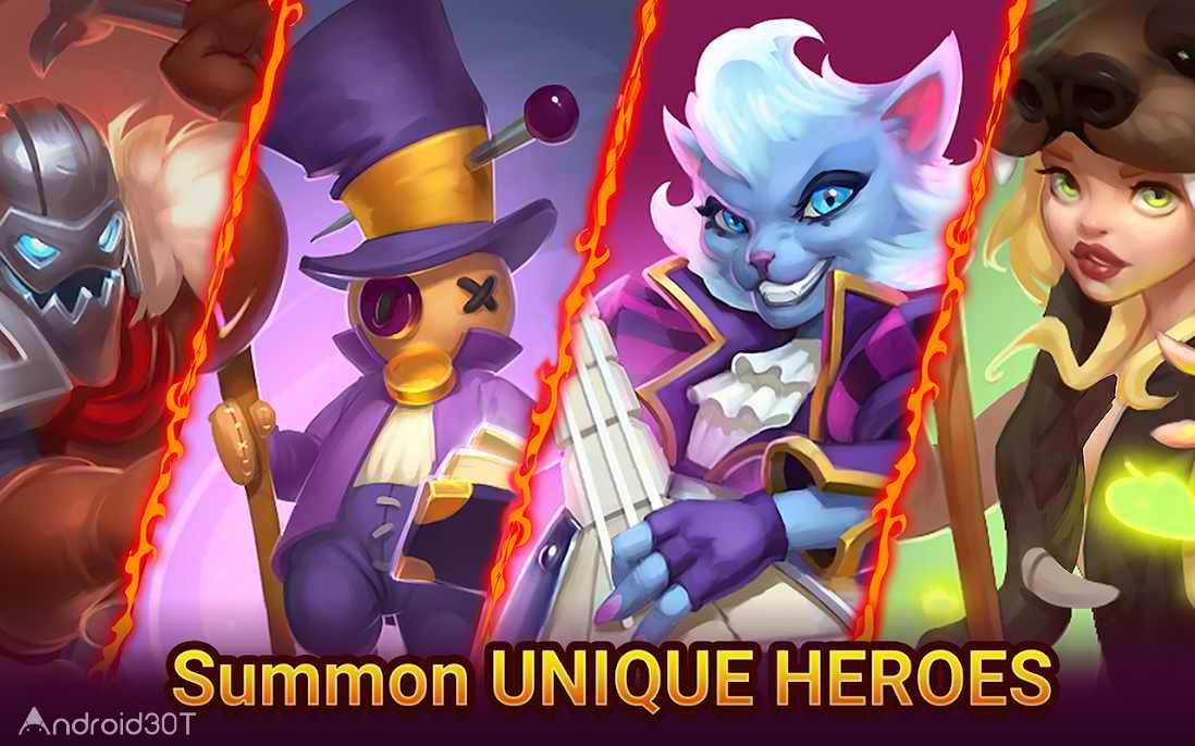 دانلود Summon Age Heroes 0.4.1 – بازی دعوت از قهرمانان اندروید