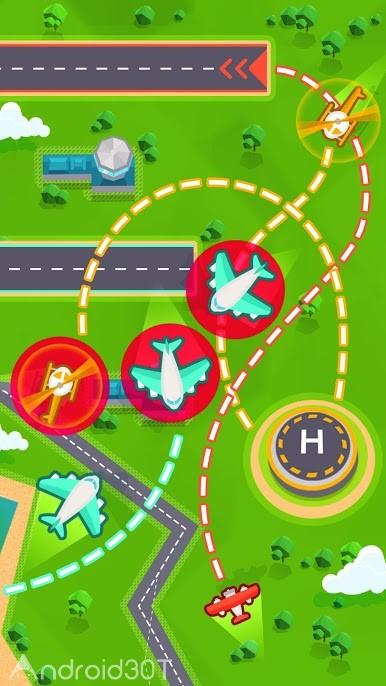 دانلود Super AirTraffic Control 1.3.1 – بازی کنترل خطوط هوایی اندروید