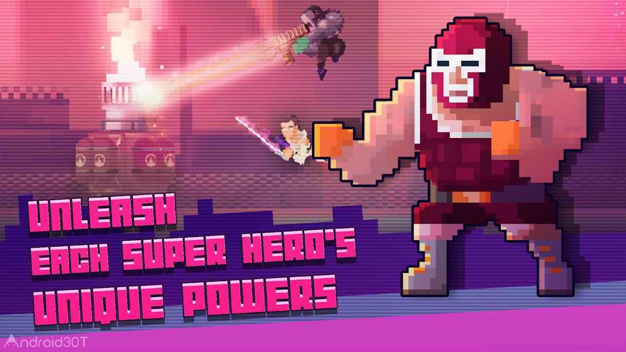 دانلود Super Hero Fight Club 1.1 – بازی آرکید باشگاه مبارزه اندروید