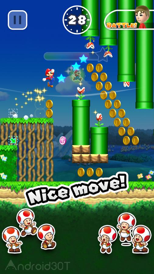 دانلود ۳٫۰٫۲۰ Super Mario Run – بازی پرطرفدار سوپر ماریو ران، قارچ خور اندروید
