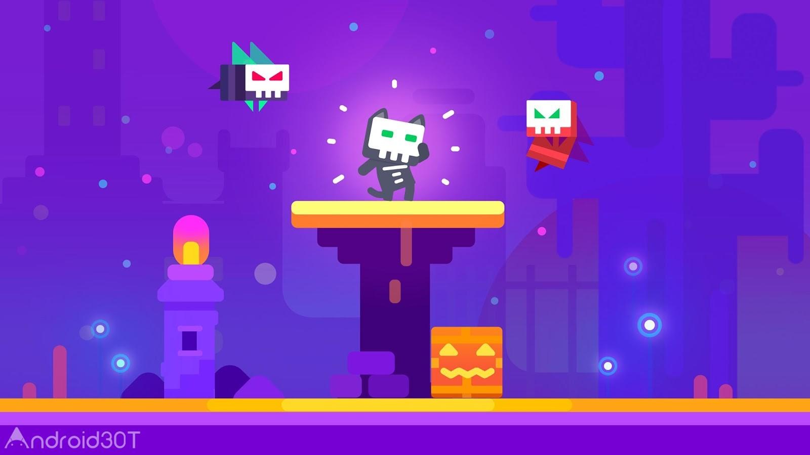 دانلود Super Phantom Cat 2 1.49 – بازی پازلی گربه شبح وار 2 اندروید