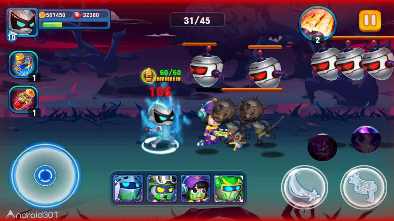دانلود SuperHero Junior 1.2 – بازی اکشن جونیور ابرقهرمان اندروید