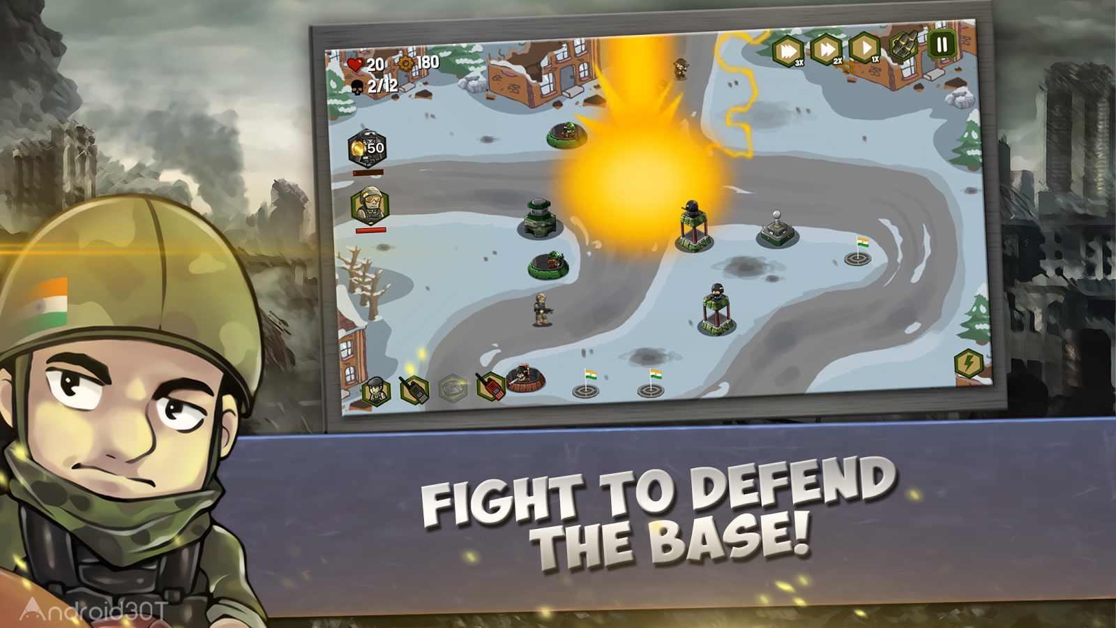 دانلود Surgical Strike – Indian Army 1.9 – بازی استراتژیک کم حجم اندروید