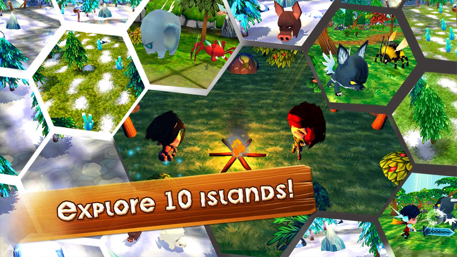 دانلود Survival Island Games – Survivor Craft Adventure 1.8.4 – بازی بقا در جزیره: بازمانده اندروید