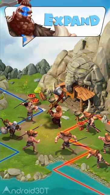 دانلود Survival Mobile:10,000 BC 0.3.32 – بازی موبایلی بقاء در عصرحجر اندروید