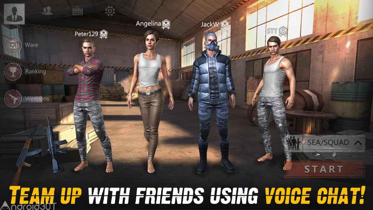 دانلود Survival Squad 1.0.27 – بازی اکشن پیراهن بقاء اندروید