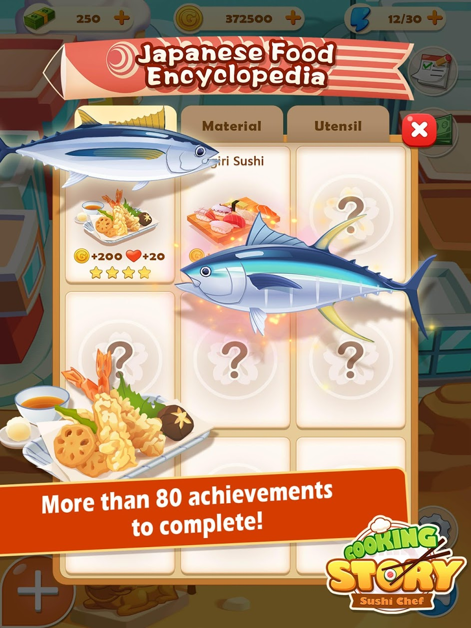 دانلود Sushi Master – Cooking story 3.9.1 – بازی مدیریت رستوران اندروید