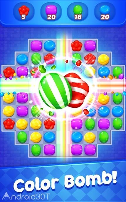 دانلود Candy Witch Story 5.8.3163 – بازی پازلی آب نباتی اندروید
