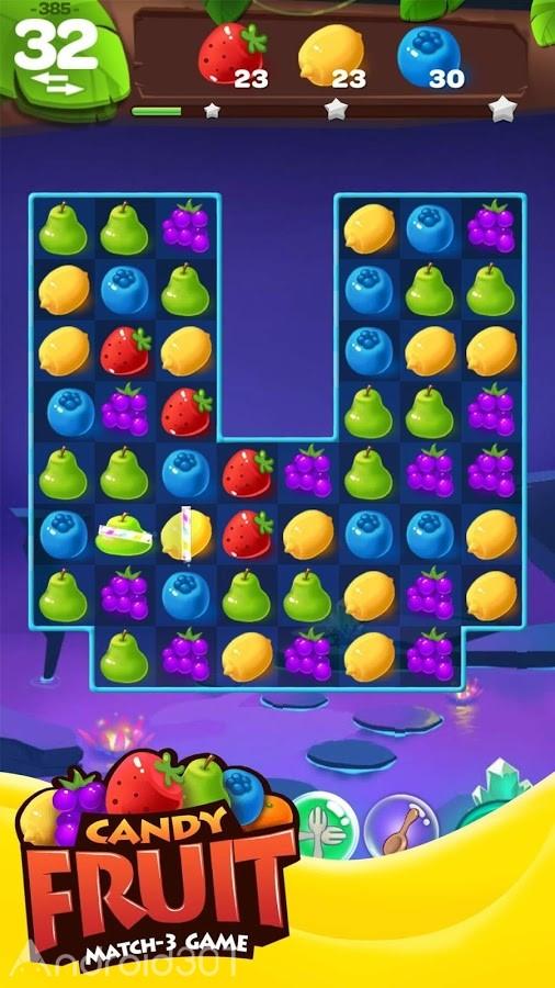 دانلود Sweet Fruit Candy 80 – بازی پازلی میوه های شیرین اندروید