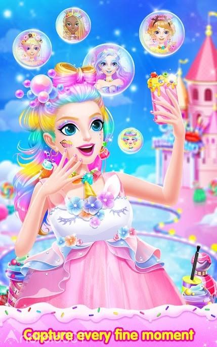 دانلود Sweet Princess Candy Makeup 1.1 – بازی سرگرم کننده دخترانه اندروید