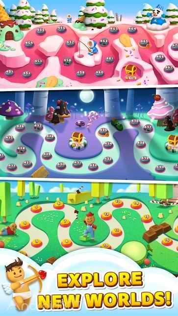 دانلود Sweet Road – Cookie Rescue 6.7.6 – بازی پازلی حذف آب نبات برای اندروید