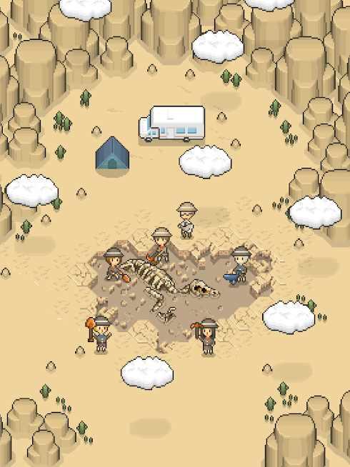 دانلود TAP! DIG! MY MUSEUM! 1.6.0 – بازی سرگرم کننده موزه من اندروید