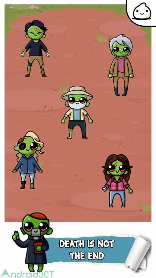 دانلود TWD Zombie Evolution 1.0 – بازی شبیه سازی مسیر رشد زامبی ها اندروید