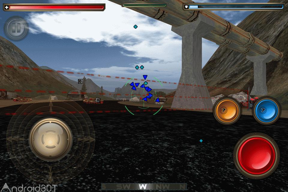 Tank Recon 2 v3.1.640 – بازی مهیج جنگ تانک ها برای اندروید