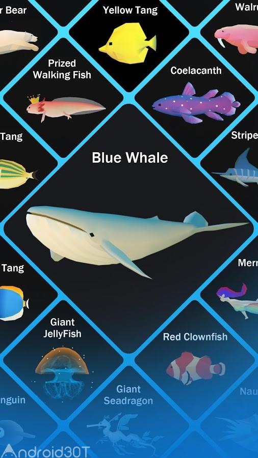 دانلود Tap Tap Fish – AbyssRium 1.31.0 – بازی جالب ماجراجویی در دریا اندروید
