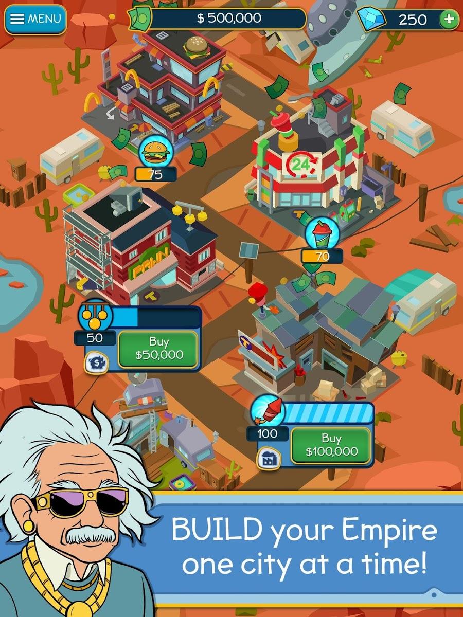 دانلود Taps to Riches 2.47 – بازی کلیکی ساختمان سازی برای اندروید