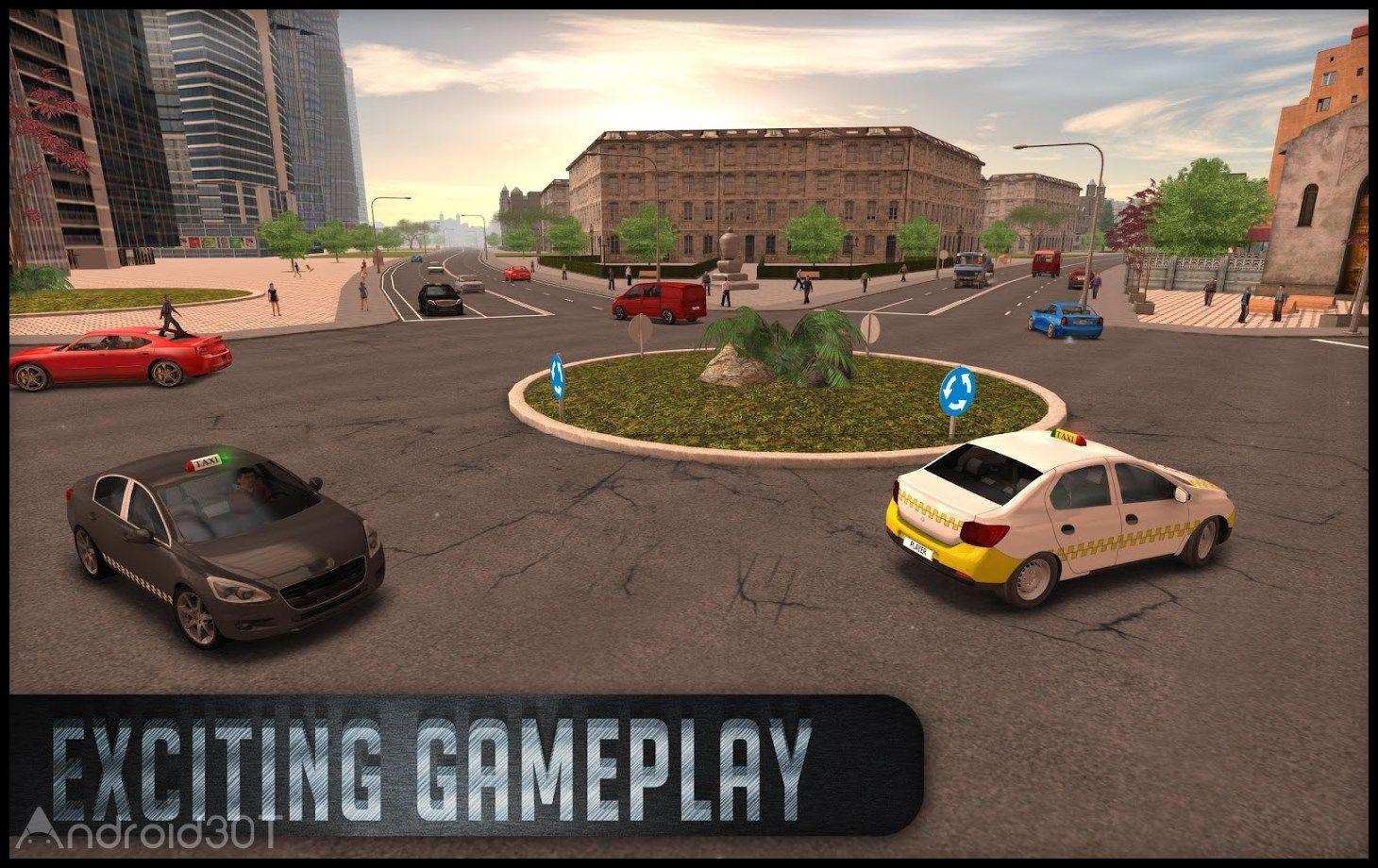دانلود Taxi Sim 2016 3.1 – بازی شبیه ساز تاکسی اندروید