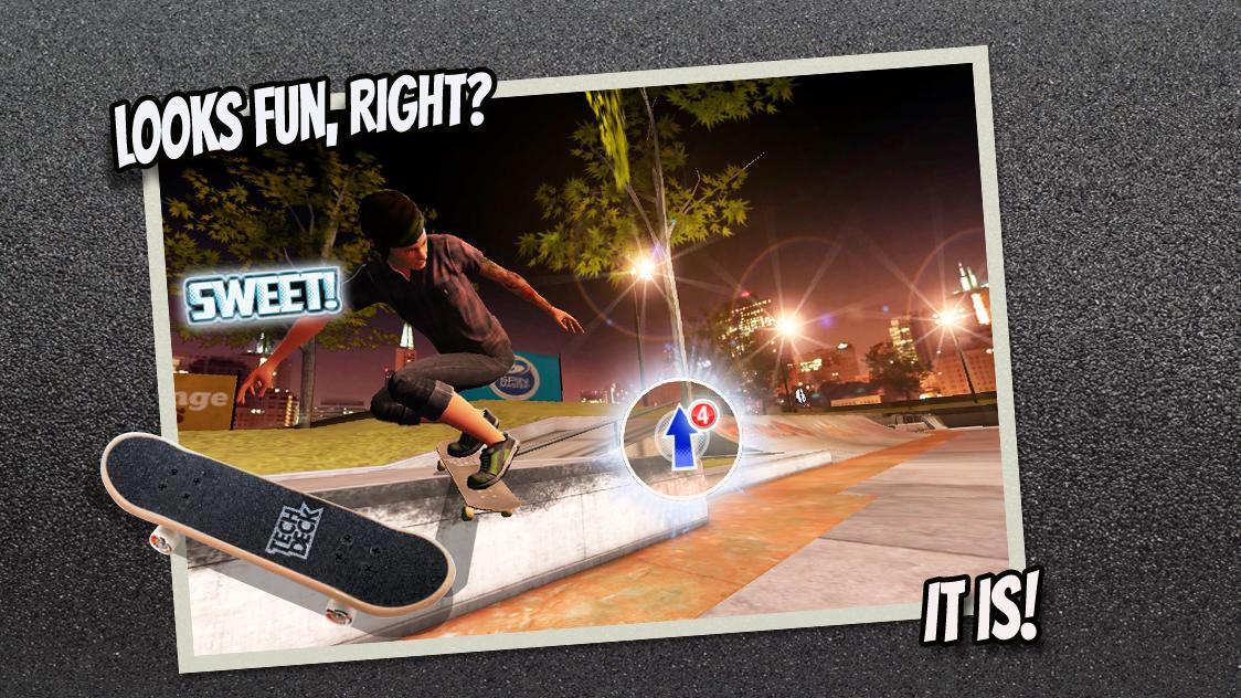 دانلود 2.1.1 Tech Deck Skateboarding v – بازی اکشن اسکیت بورد اندروید