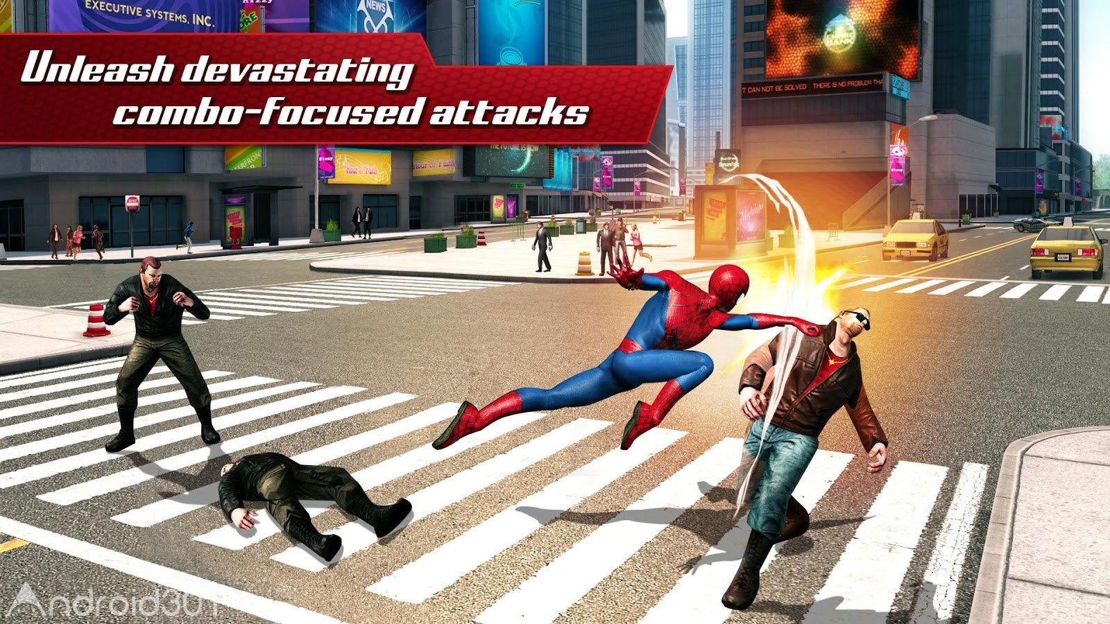دانلود  The Amazing Spider-Man2 v1.2.8d – بازی مرد عنکبوتی شگفت انگیز ۲ اندروید
