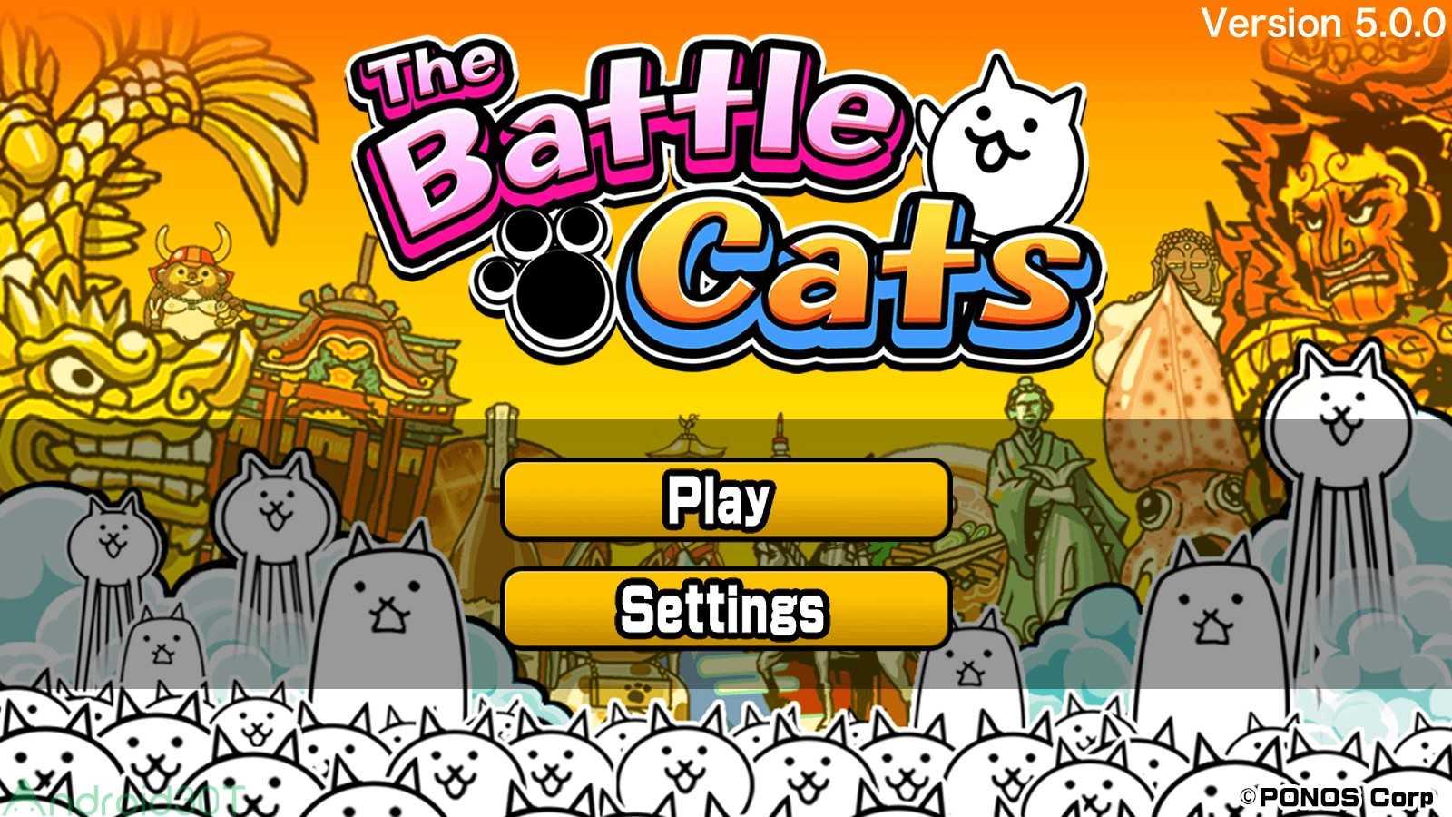 دانلود The Battle Cats 10.7.0 – بازی تفننی نبرد گربه ی زیبا اندروید
