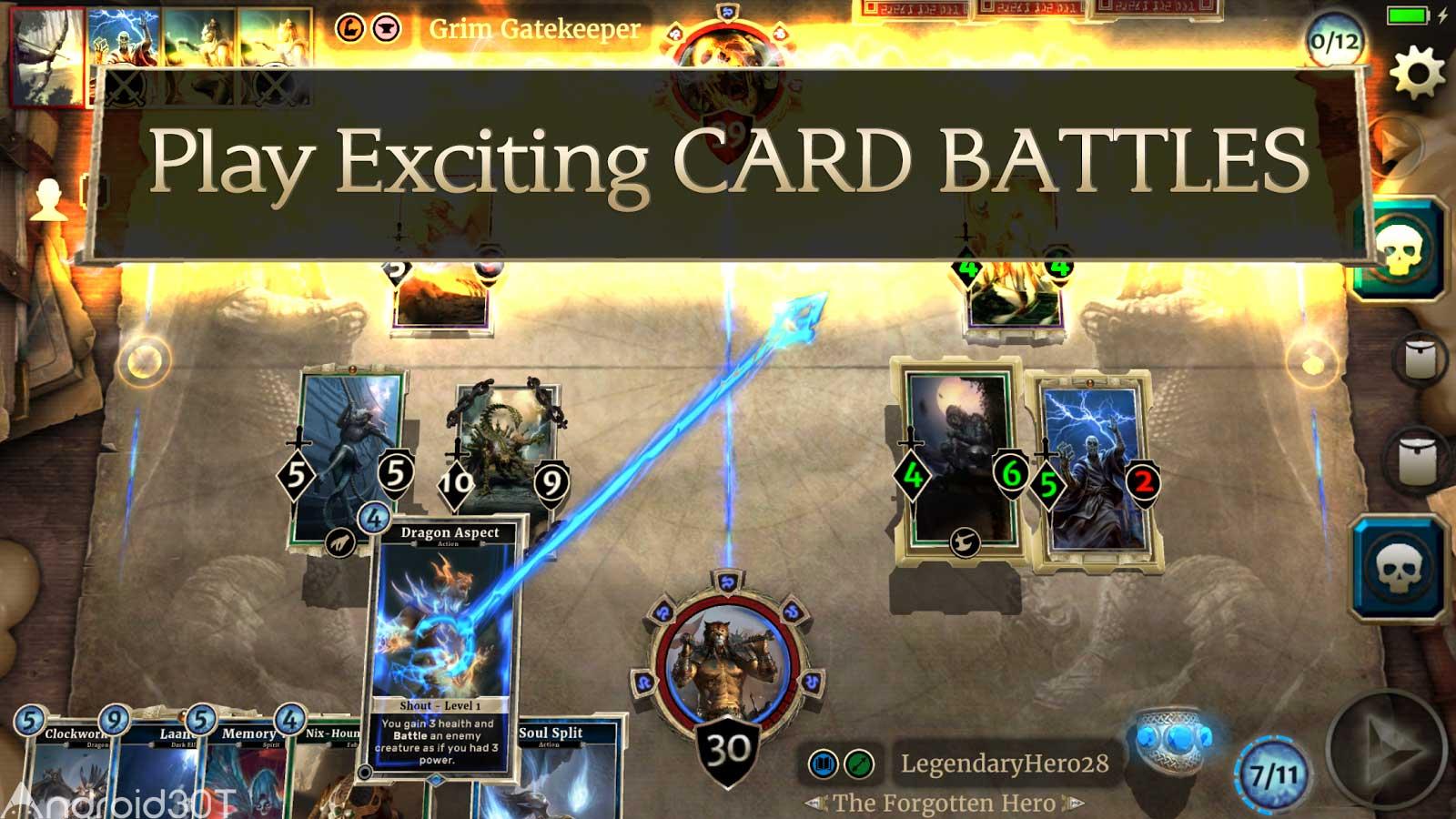 دانلود The Elder Scrolls: Legends 2.15.0 – بازی تخته ای افسانه کتیبه ها اندروید