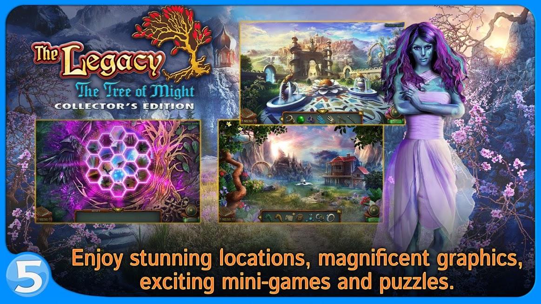 دانلود The Legacy: The Tree of Might (Full) 1.0.1 – بازی فکری وپازلی میراث ۳ اندروید