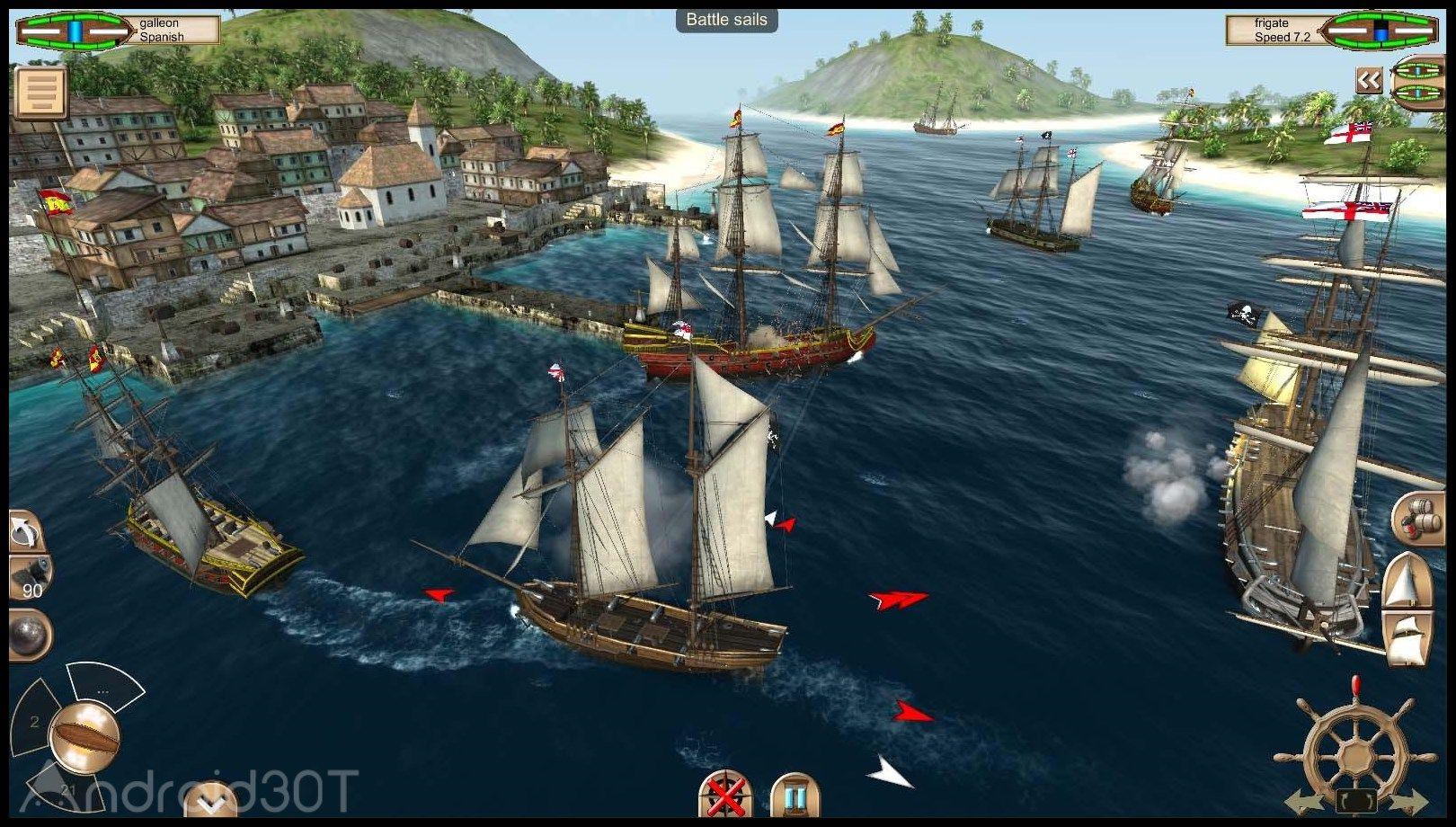 دانلود The Pirate: Caribbean Hunt 9.6 – بازی دزدان دریایی کارائیب اندروید