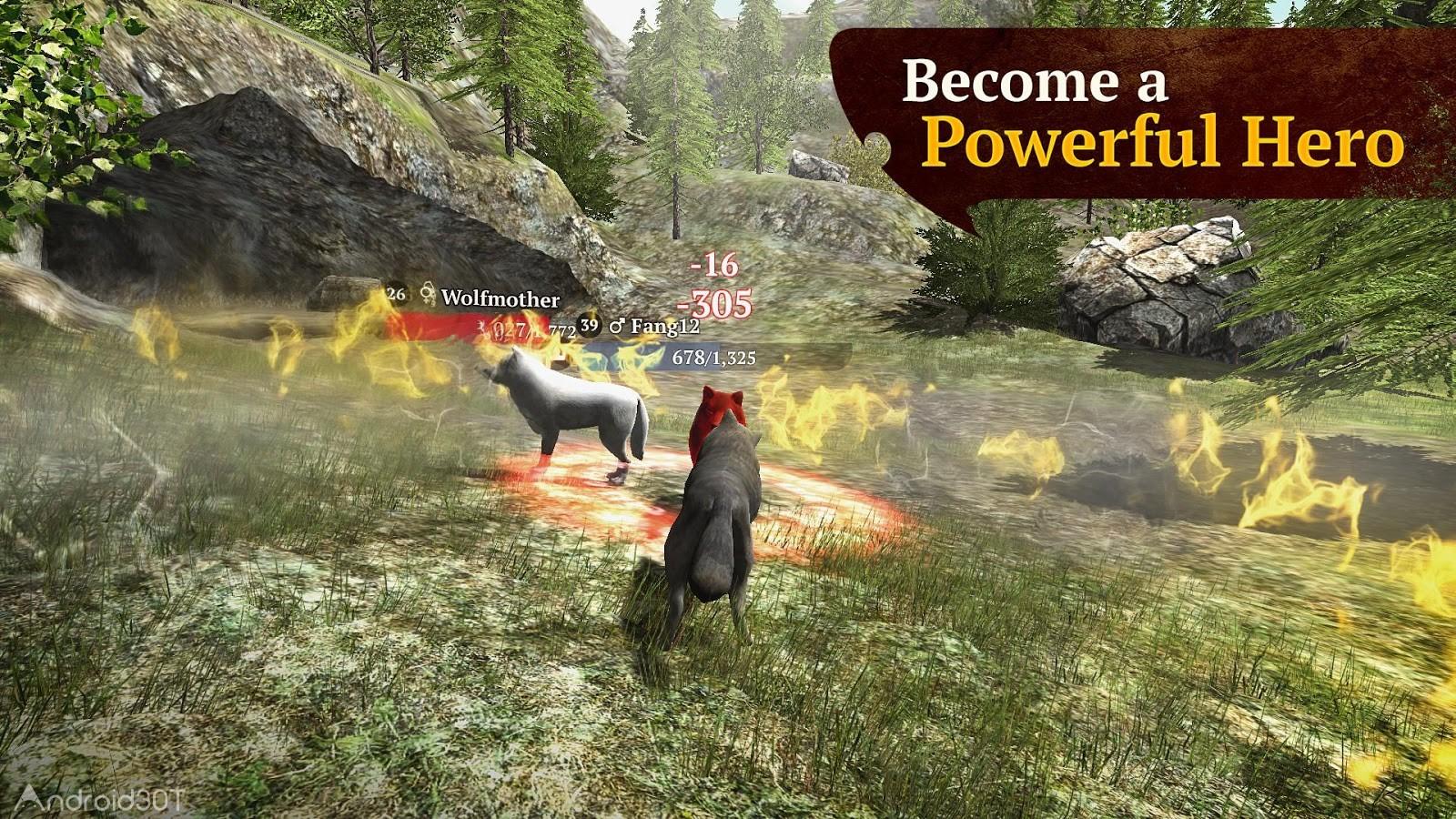 دانلود The Wolf 2.2.3 – بازی جذاب و هیجان انگیز گرگ اندروید