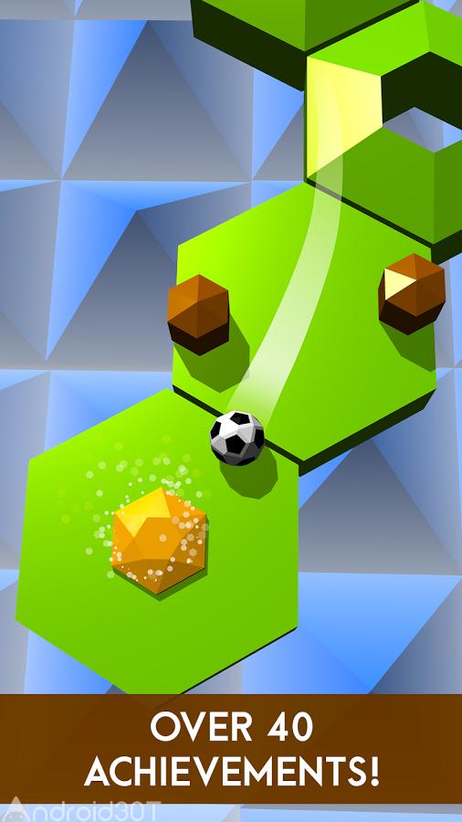 دانلود Tiltagon 2.0.0 – بازی رقابتی کنترل گوی اندروید