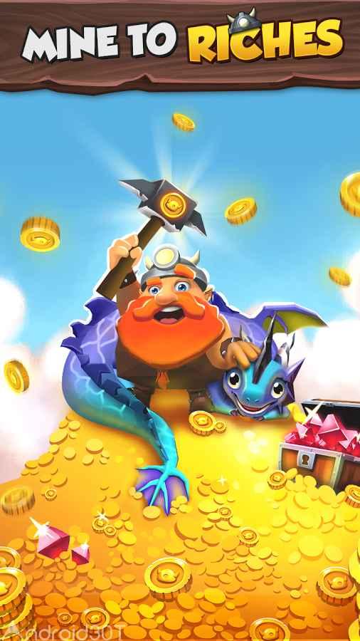 دانلود Tiny Miners – Idle Clicker 3.6 – بازی جذاب معدنچی کوچک اندروید
