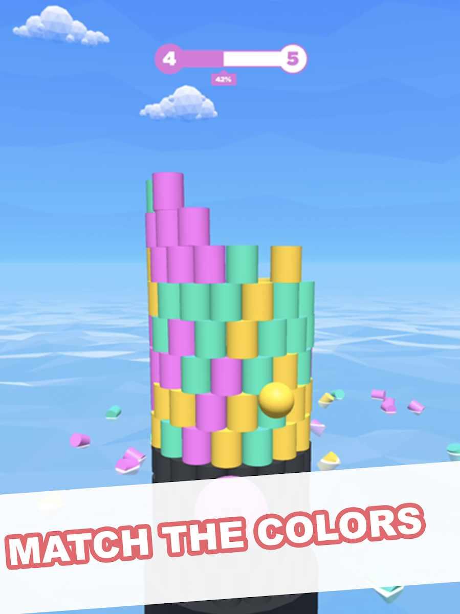 دانلود Tower Color 1.2 – بازی اعتیاد آور برج رنگی اندروید