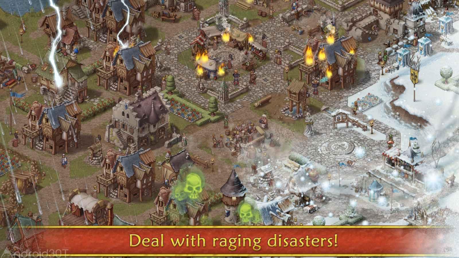 دانلود Townsmen Premium 1.14.3 – بازی نقش آفرینی شهرسازی اندروید
