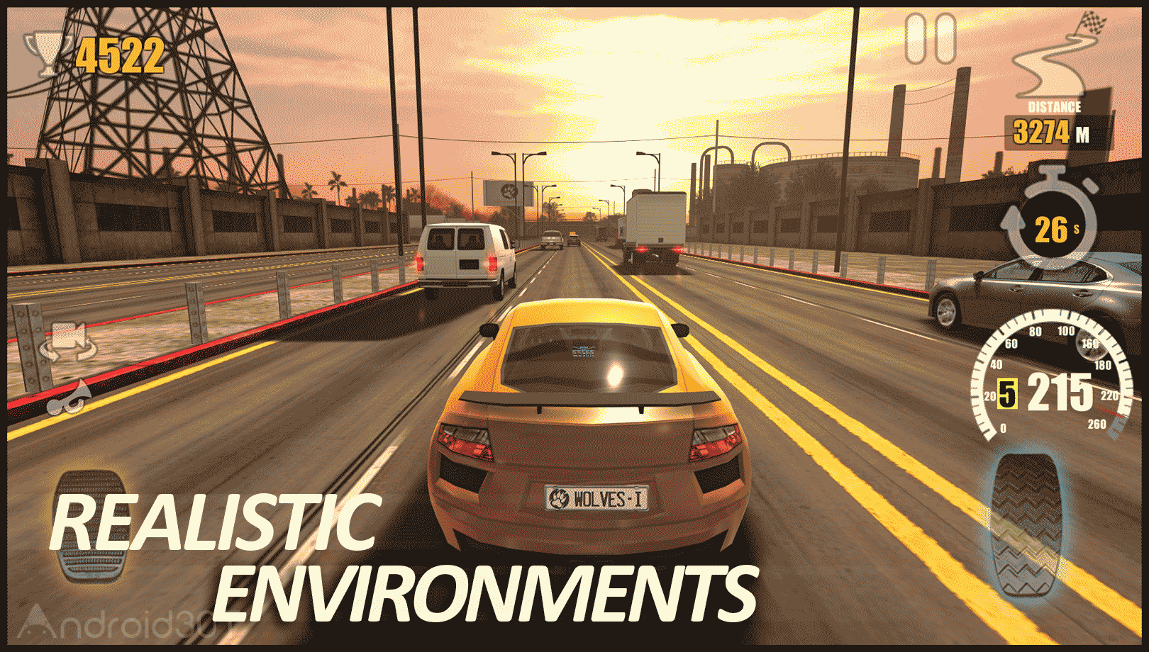 دانلود Traffic Tour 1.6.9 – بازی ماشین رانی ترافیک تور اندروید