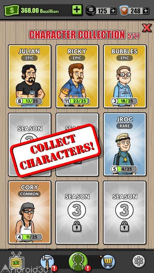دانلود Trailer Park Boys Greasy Money 1.22.1 – بازی شبیه سازی بچه های پارک اندروید