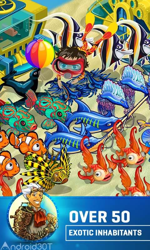 دانلود Treasure Diving 1.214 – بازی اکشن و ماجراجویی غواصی برای گنج اندروید