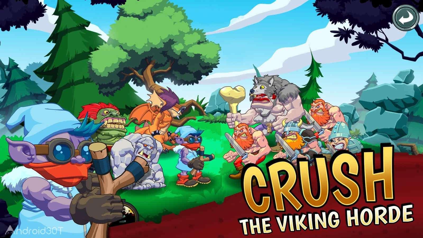 دانلود Trolls vs Vikings 2 v1.6.1 – بازی ترول ها در مقابل وایکینگ ها 2 اندروید
