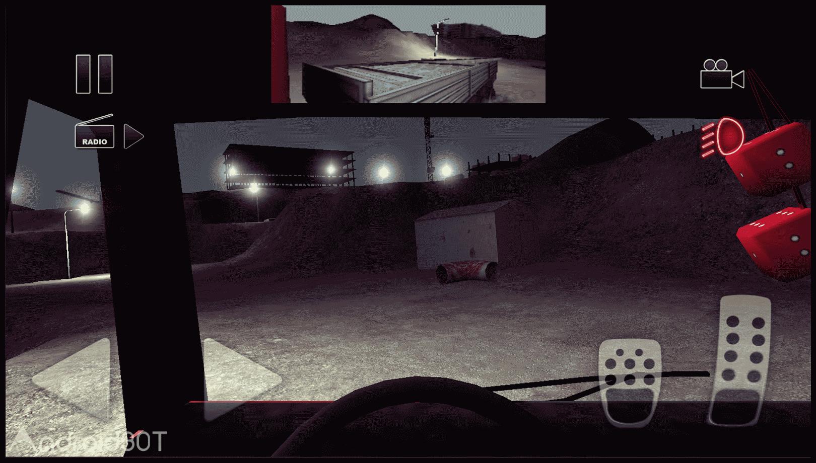 دانلود Truck Driver crazy road 2.2.1 – بازی رانندگی کامیون اندروید