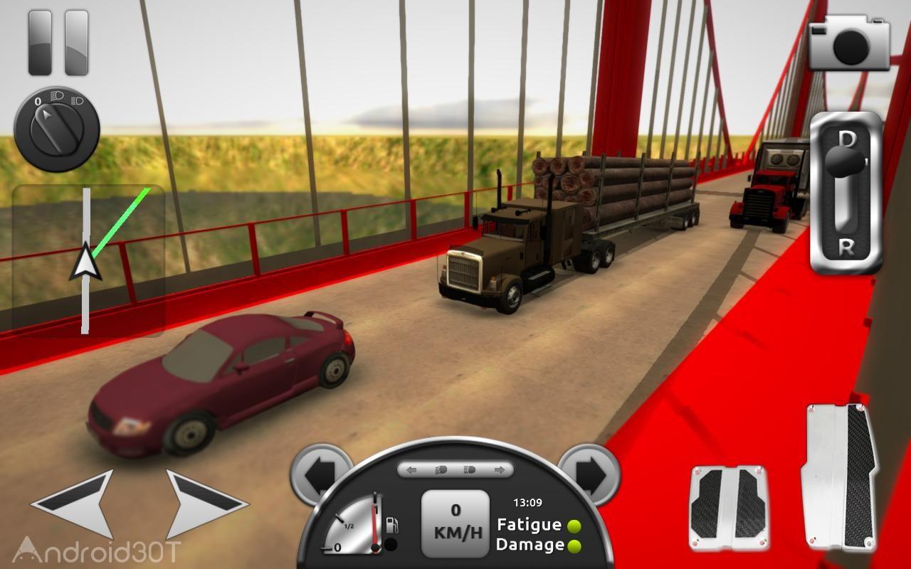 Truck Simulator 3D 2.1 – بازی رانندگی با تریلی اندروید