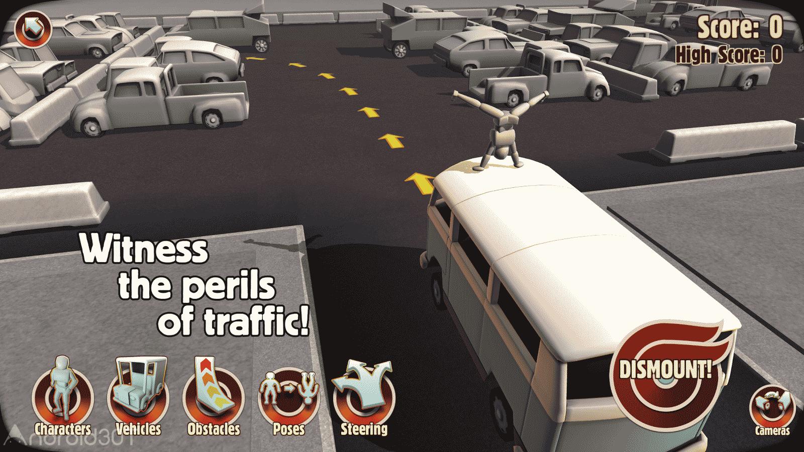 دانلود Turbo Dismount 1.43.0 – بازی شبیه ساز تصادف اندروید