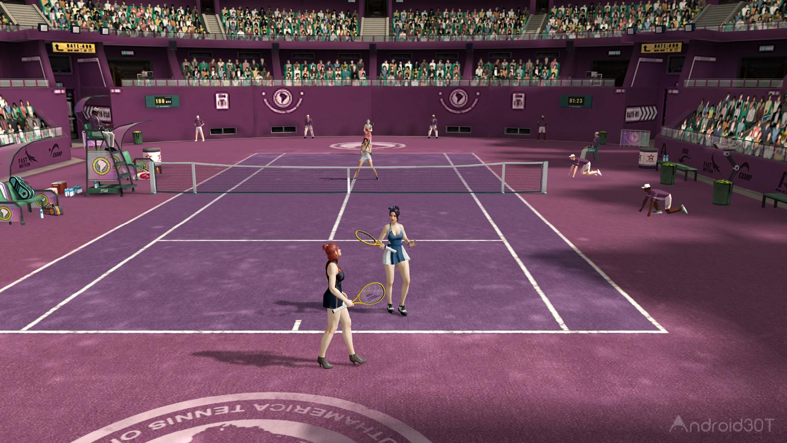 دانلود Ultimate Tennis 3.16.4417 – بازی هیجان انگیز تنیس بی نهایت اندروید