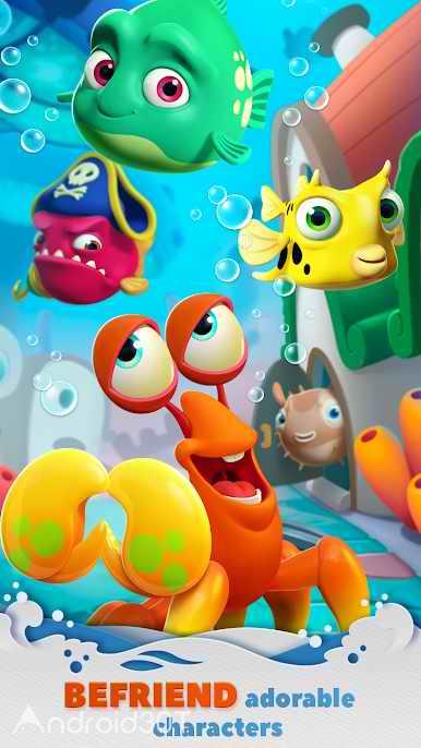 دانلود Undersea Match & Build 1.0.5 – بازی پازلی زیر دریا برای اندروید